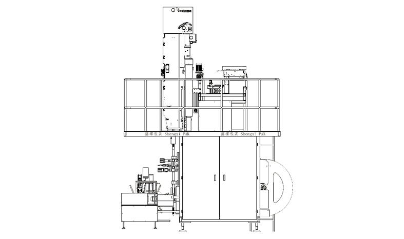 Aseptic Carton Packing Machine (large Package Type)